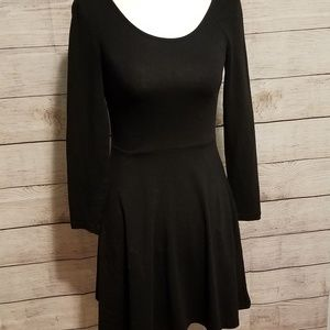 🎃 Charlotte Russe long sleeve fitted dress